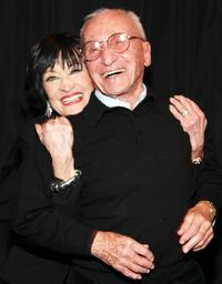 Arthur Laurents with Chita Rivera At Palace Theater On Broadway on February 26, 2009