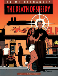 Book cover for a Love & Rockets collection