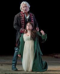 Sondra Radvanovsky as Leonora and Dmitri Hvorostovsky as Count di Luna in Verdi's <em>Il Trovatore</em>