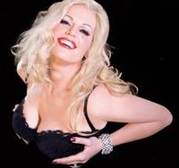 Eva-Maria Westbroek as Anna Nicole Smith in the Royal Opera House production <em>Anna Nicole</em>