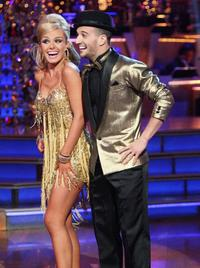 Mezzo-soprano and crossover artist Katherine Jenkins with Mark Ballas