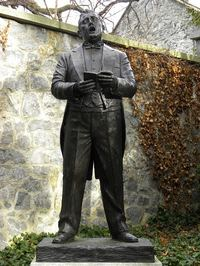 Sculpture of John McCormack in Iveagh Gardens, Dublin