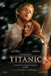 Movie poster for James Cameron's 'Titanic.'