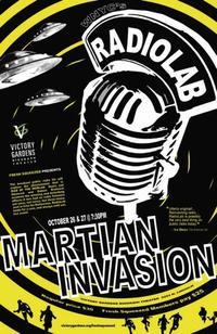 Radiolab Martian Invasion