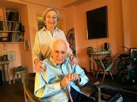 Anton Coppola and his wife Almerinda.