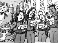 Joe Dator's Ghostbusters cartoon