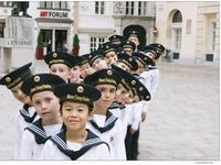 The Vienna Boys Choir.
