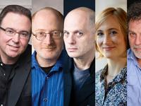 Yale School of Music Faculty: Chris Theofanidis, Aaron Jay Kernis, David Lang, Hannah Lash, and Martin Bresnick