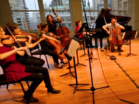 Brooklyn Duo plays with select fellows from Carnegie Hall's Ensemble Connect.