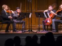 JACK Quartet at 92Y for the NY PHIL Biennial on May 23, 2016