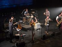 San Fermin performs live for Soundcheck at Brooklyn's BAM Harvey Theater as part of RadioLoveFest.