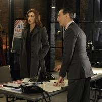 Julianna Margulies and Alan Cumming in The Good Wife (CBS)