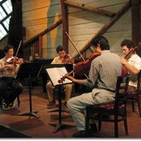 The Shanghai Quartet rehearses at Maverick Concerts