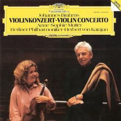 Herbert von Karjan and Anne Sophie Mutter