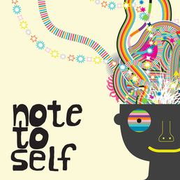 Note to self podcast show art