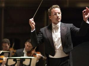 Franz Welser-Möst, conductor of the Cleveland Orchestra. Orchestra musicians went on strike last week to avert a five-percent pay cut.