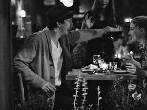 Adam Driver and Greta Gerwig in Frances Ha.