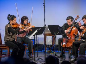 Ying Quartet at New York HIstorical Society on Jan. 10, 2014