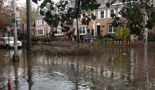 Flooded properties in New Jersey, post Sandy