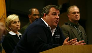 Gov. Chris Christie asked for patience when it comes to power issues at a press conference regarding the severe weather conditions anticipated from Hurricane Sandy.