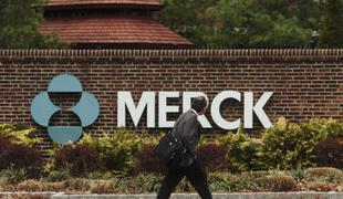 The outside of a Merck plant in Rahway, NJ.