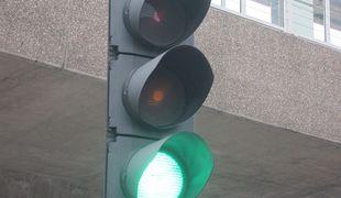 green light, traffic light
