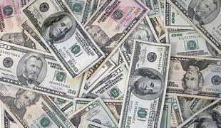 American dollar bills money