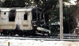 MetroNorth train that struck a car killing the driver and 5 people on the train.