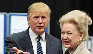 Donald Trump is pictured with his older sister, U.S. Circuit Court of Appeals Judge Maryanne Trump Barry.