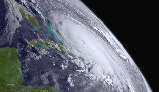 Hurricane Joaquin reached Categroy 4 strength over the Bahamas Thursday.