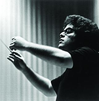 James Levine conducts at the Metropolitan Opera.