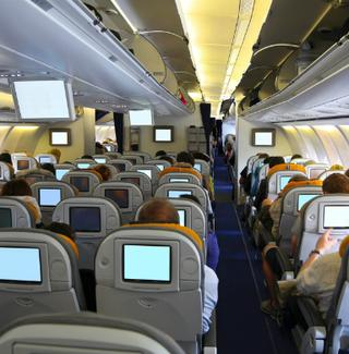 In-flight entertainment screens