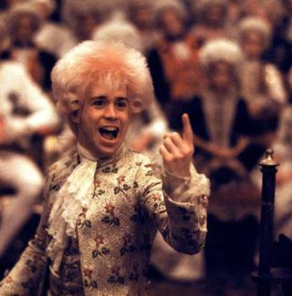 Tom Hulce as the titular character in 1984's 'Amadeus.'