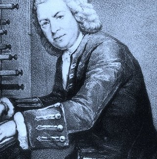 Bach at the keyboard