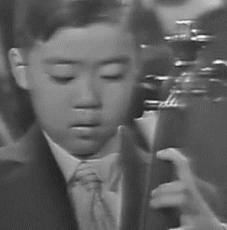 Yo-Yo Ma performs at the White House in 1962.