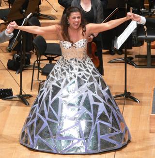 Cecilia Bartoli, after a concert performance of 'La Cenerentola,' Salle Pleyel, Paris, in 2008