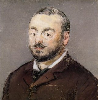 Emmanuel Chabrier in an 1880 painting by Édouard Manet.