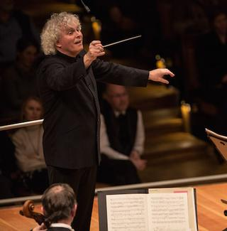 Simon Rattle conducts the Berlin Philharmonic