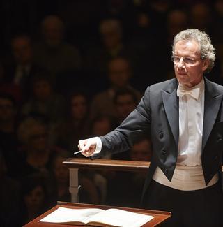 Conductor Franz Welser-Möst.