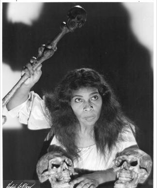 Marian Anderson as the fortune-telling Ulrica in Verdi's 'Un Ballo in maschera'