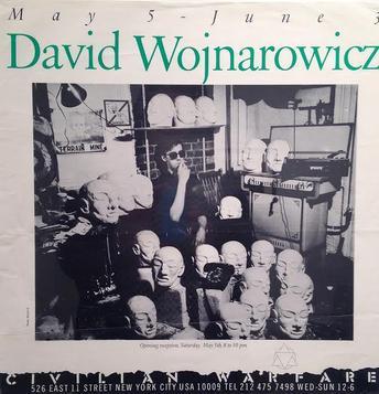 David Wojnarowicz from Civilian Warfare in 1984