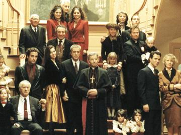 The family portrait in 'The Godfather: Part III'