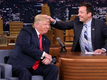 """Donald Trump appears on 'The Tonight Show"""" with Jimmy Fallon"""