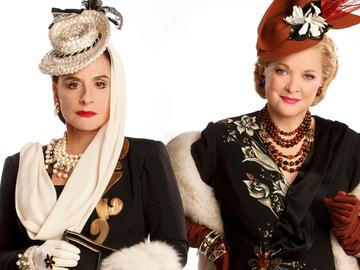 Patti LuPone and Christine Ebersole in WAR PAINT