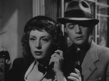Viviane Romance and Paul Bernard in Julien Duvivier's PANIQUE (1947). Courtesy Rialto Pictures. Playing Friday, January 20 through Thursday, February 2.