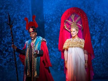 Aida at English National Opera: Robert Winslade-Anderson and Michelle DeYoung.