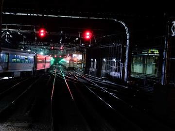 The A-interlocking at Penn Station where NJ Transit and Amtrak train cross paths heading in and out of the terminal. On the left is the North River tunnel to New Jersey.
