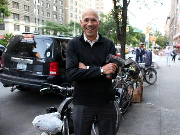 Matthew Shefler is a private citizen who's getting involved in politics for the first time in an effort to get rid of electric delivery bikes, or at least get the police to enforce the law.
