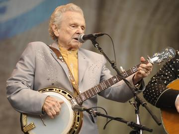 Ralph Stanley of Ralph Stanley and the Clinch Mountain Boys performs as part of Hardly Strictly Bluegrass Festival in Golden Gate Park on October 2, 2011 in San Francisco, California