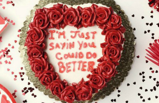 All cakes can be improved with Drake lyrics